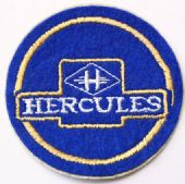 Hercules - Embroidered Patch